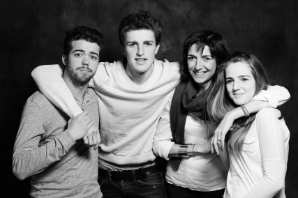 portrait famille dubar